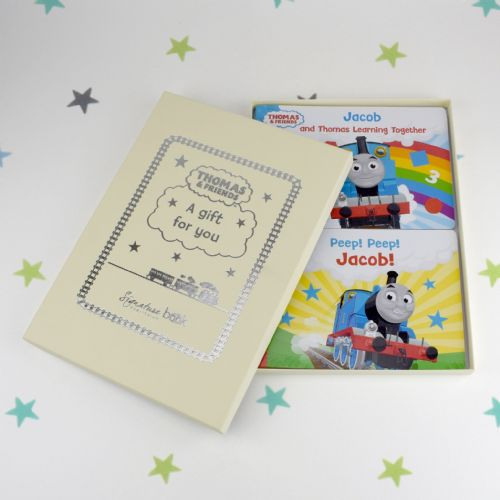 Personalised Dual Book Thomas & Friends Board Books